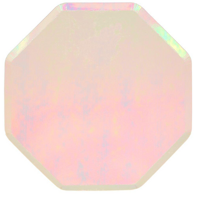 Iridescent Dinner Plates - Ralph and Luna Party Shop