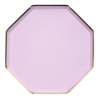 Lilac Dinner Plates - Ralph and Luna Party Shop
