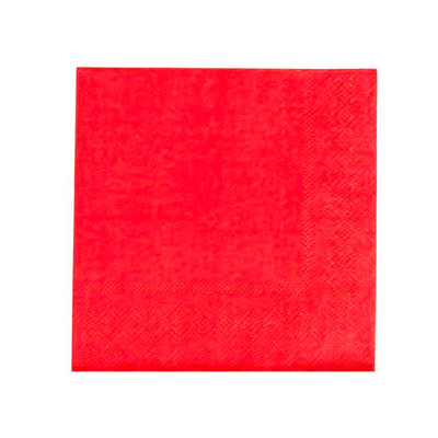 Cherry Red Party Napkins - Ralph and Luna Party Shop