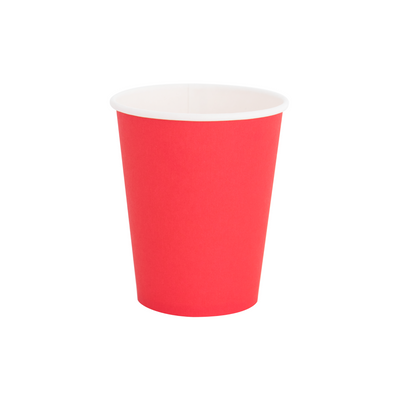 Cherry Red Paper Party Cups - Ralph and Luna Party Shop