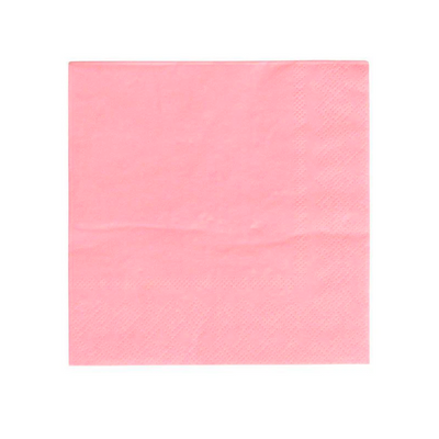Rose Pink Party Napkins - Ralph and Luna Party Shop
