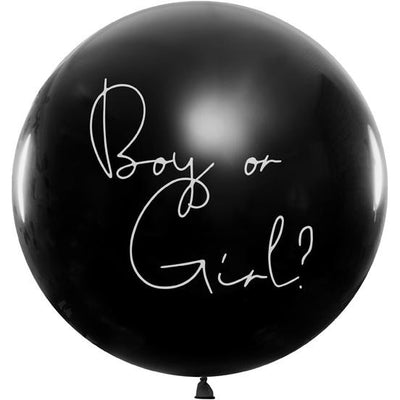 Gender Reveal Balloon - Girl - Ralph and Luna Party Shop