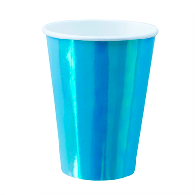 Bubble Mint Paper Cups - Ralph and Luna Party Shop