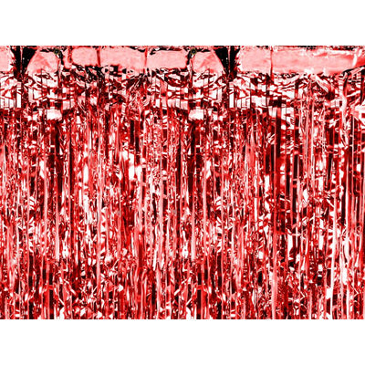 Red Party Curtain - Ralph and Luna Party Shop