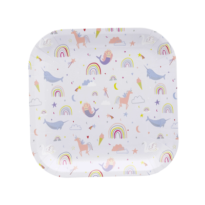Enchanted Paper Plates - Ralph and Luna Party Shop