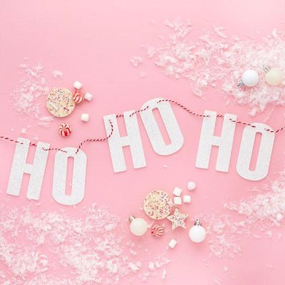 Ho Ho Ho Acrylic Garland - Ralph and Luna Party Shop