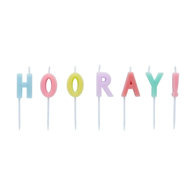 HOORAY CANDLES - Ralph and Luna Party Shop