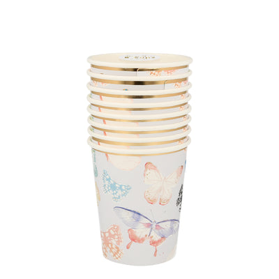 Butterfly Party Cups - Ralph and Luna Party Shop