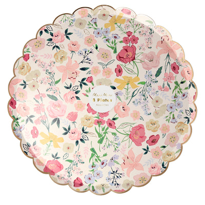 English Garden Dinner Plates - Ralph and Luna Party Shop