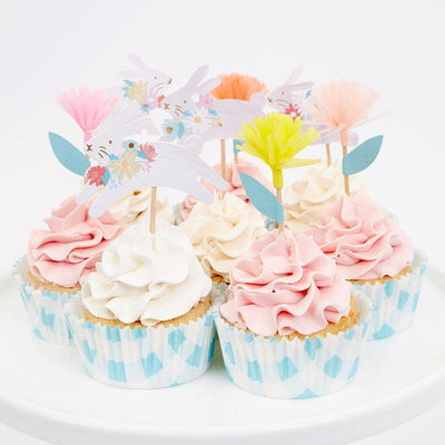 Spring Bunny Cupcake Kit - Ralph and Luna Party Shop