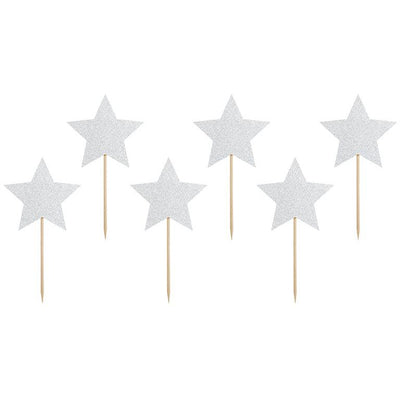 Star Cupcake Toppers - Ralph and Luna Party Shop