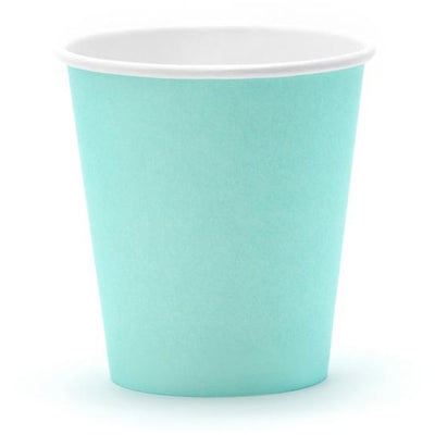 Turquoise 180ml Paper Cups - Ralph and Luna Party Shop