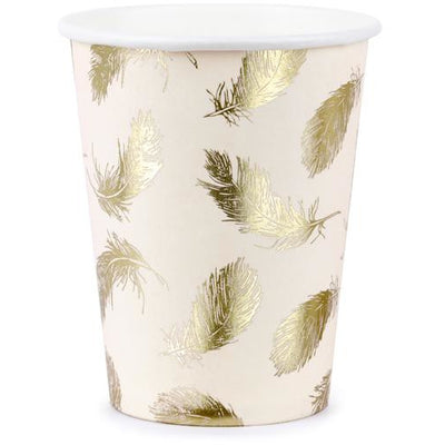 Swan 220ml Paper Cups - Ralph and Luna Party Shop