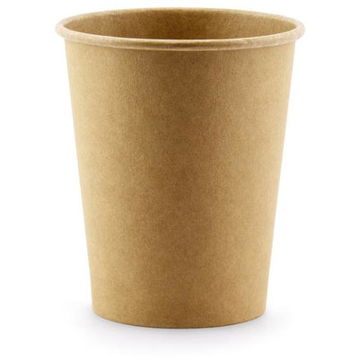 Kraft 220ml Paper Cups - Ralph and Luna Party Shop