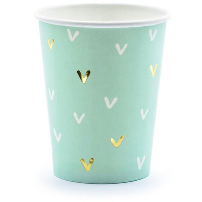 Cactus 220ml Paper Cups - Ralph and Luna Party Shop