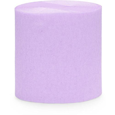 Pale Lilac Crepe Paper Streamers - Ralph and Luna Party Shop