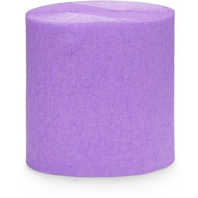 Lilac Crepe Paper Streamers - Ralph and Luna Party Shop