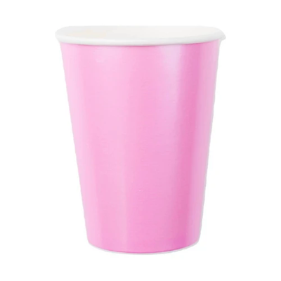 Pink Paper Cups - Ralph and Luna Party Shop