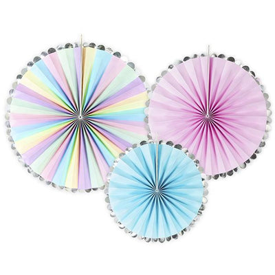Unicorn Party Fans - Ralph and Luna Party Shop