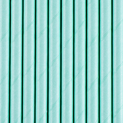 Blue Paper Straws - Ralph and Luna Party Shop