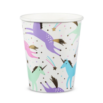 Magical Unicorn Cups - Ralph and Luna Party Shop