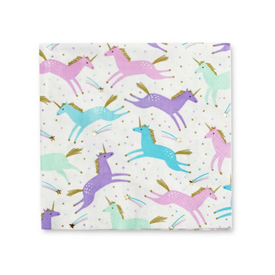 Magical Unicorn Napkins - Ralph and Luna Party Shop