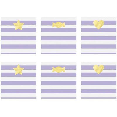 Lilac Treat Bags - Ralph and Luna Party Shop