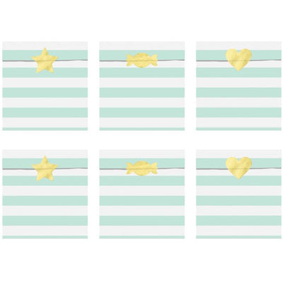 Mint Treat Bags - Ralph and Luna Party Shop
