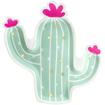 Cactus Party Plates - Ralph and Luna Party Shop