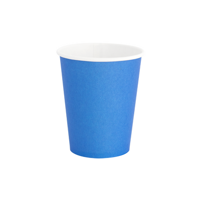 Pool Blue Paper Party Cups - Ralph and Luna Party Shop