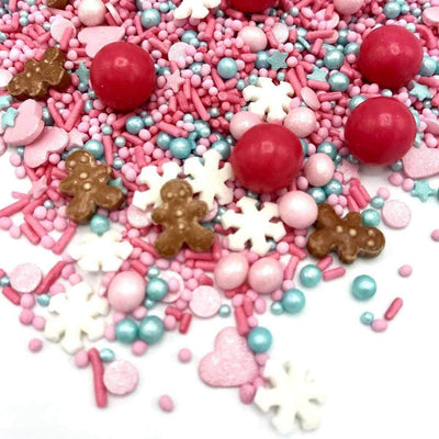 Christmas Candy World Sprinkles - Ralph and Luna Party Shop