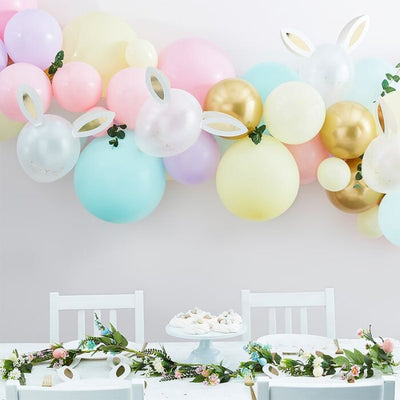 EASTER BUNNY BALLOON ARCH KIT - Ralph and Luna Party Shop