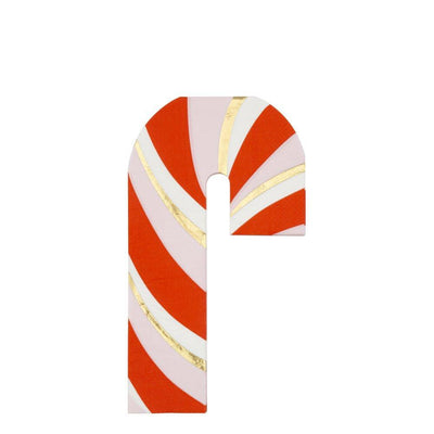 Candy Cane Napkins - Ralph and Luna Party Shop