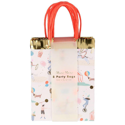 Circus Parade Party Bags - Ralph and Luna Party Shop
