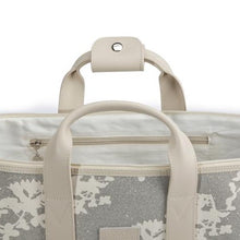Load image into Gallery viewer, Apple & Bee Overnight Bag, Silver Sage