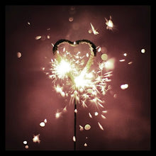 Load image into Gallery viewer, Sparkler Candle Wand - Star/Heart
