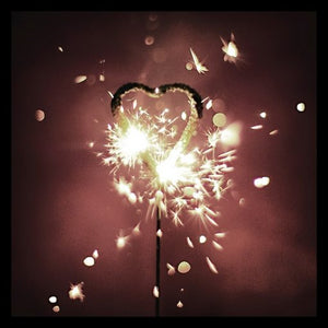 Sparkler Candle Wand - Star/Heart
