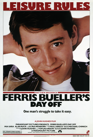 Ferris Bueller's Day Off - Sunday, July 12