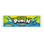 Sour Punch Blue Raspberry Straws