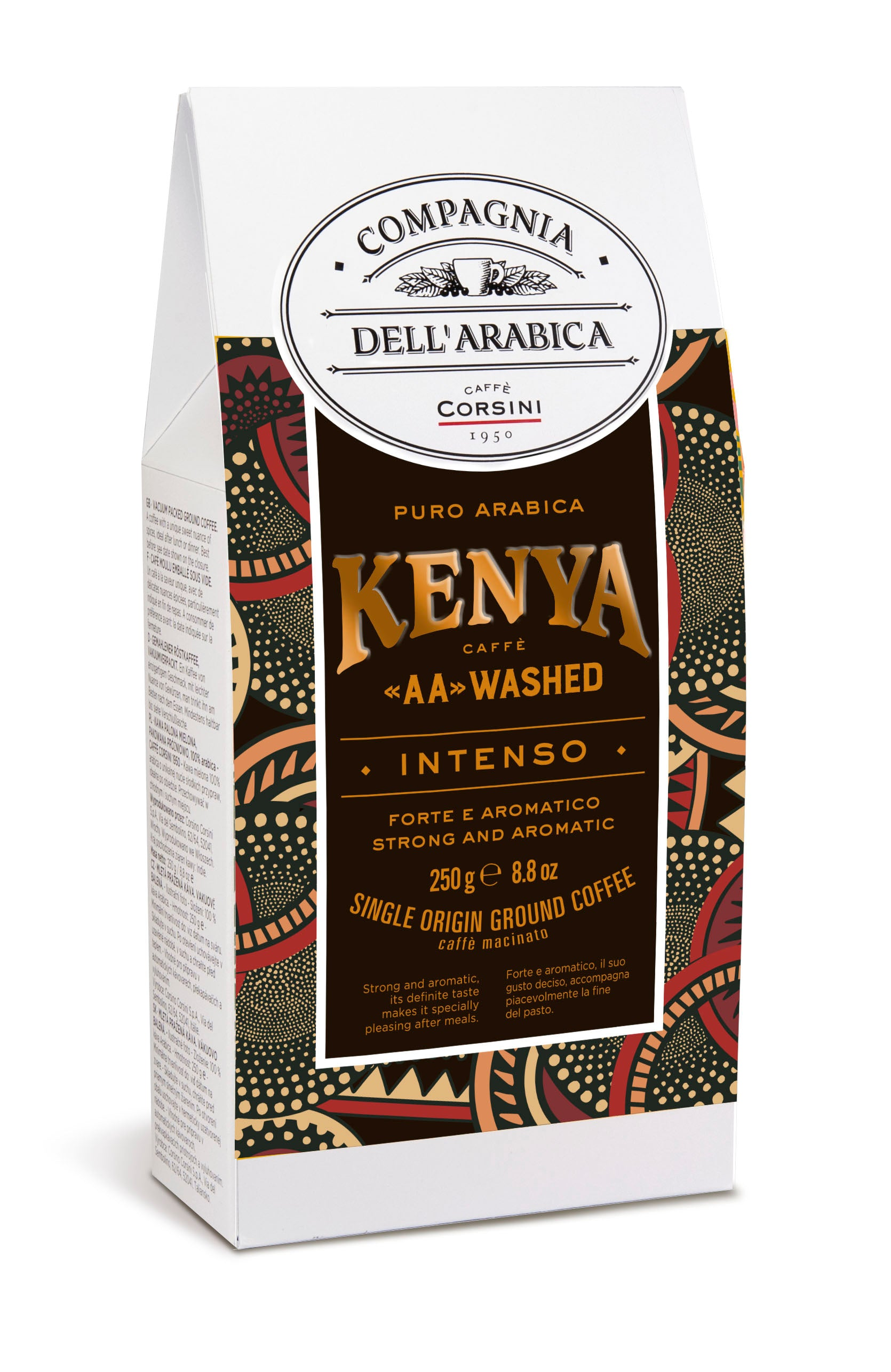 "CAFÉ MOULU - KENYA ""AA""WASHED 250 GRS"