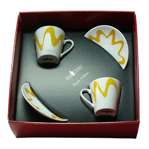 TOP MOKA - Box 2 cups + 2 saucers