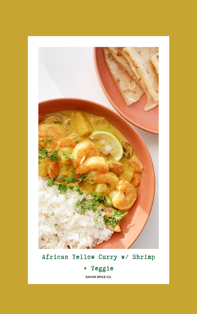african yellow curry