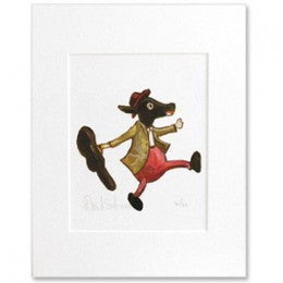 Donald Saaf Print - Dog