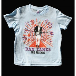 Dan Zanes dusty road t-shirt