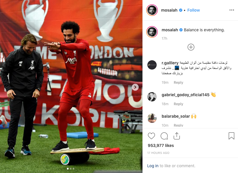 """Balance is Everything"" by Mohamed Salah"