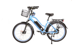 X-Treme Catalina 48 Volt Lithium Powered Electric Step-Through Beach Cruiser Bicycle
