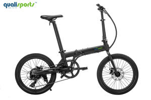 Qualisports Volador Folding Electric Bicycle 20in