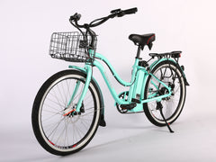 3 / 41 X-Treme Malibu Elite Max 36 Volt Beach Cruiser Electric Bike