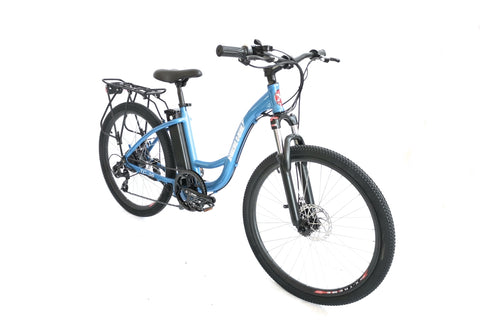 X-Treme Trail Climber Elite Max 36 Volt Electric Step-Through Mountain Bike (Woman's)