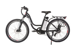 Trail Climber Elite 24 Volt Lithium Powered Electric Step-Through Mountain Bicycle